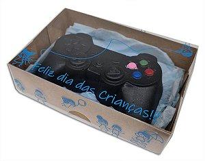 Embalagem kraft p 6 doces Dia Das Crianças c/ 10 und