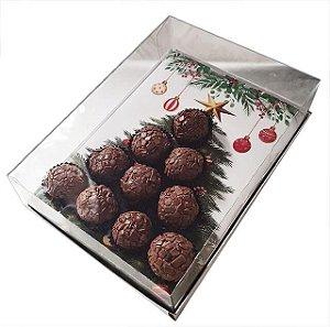 10 Caixas para 10 Brigadeiros - Arvore de Natal (20x14,5x7,5)