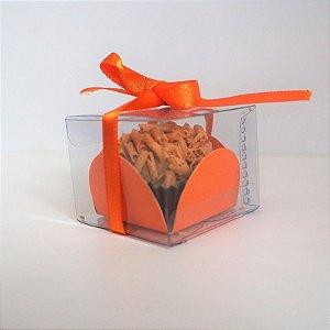 100 Embalagens para 1 brigadeiro ou doce - acetato transparente