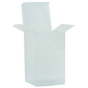 Embalagem de acetato transparente  8,5x8,5x15 - pct c/20 Unidades