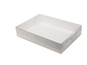 Embalagens Brancas (18x14x3,5) - pacote c/20 unidades