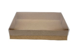 Embalagens Kraft (18x14x3,5) pacote c/20 Unidades