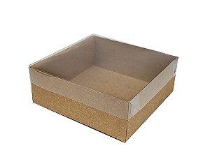 Embalagens Kraft - (13x13x5) pacote c/10 unidades