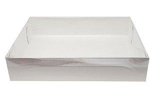 Embalagem branca 30x25x6 - pacote c/10 unidades