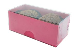 Embalagem pink para 2 doces (8x4x3) - 20 Und.