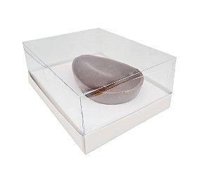 Embalagem Branca Ovo de Colher 250g_350g c/ 5 unidades