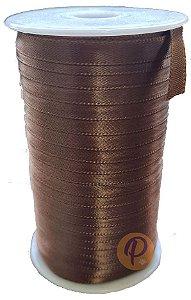 FITA CETIM - TAMANHO 07 MM  C/ 100 METROS - MARROM