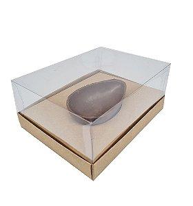 Caixa kraft P/ 1 Ovos de Colher 100_150g cada - 05 unidades