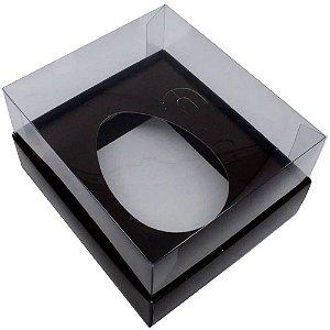 Caixas Marrom P/ Ovo De Colher 350g - 05 unidades