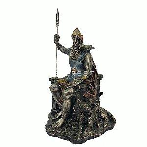 Odin Estatueta Mitologia Nórdica - Deuses da Mitalogia.
