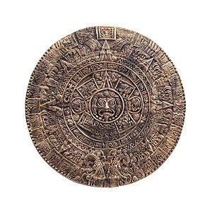 Calendário Asteca de parede.