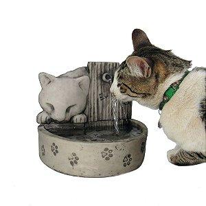 Bebedouro Para Gato e Fonte Para Gatos + Brinde.