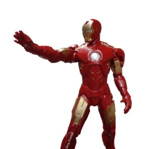 Homem De Ferro - Iron Man boneco Em Resina