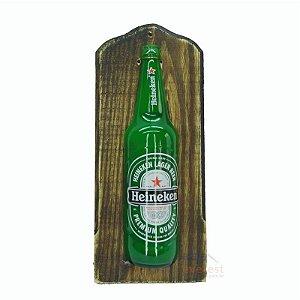 Luminoso Heineken Com Led Madeira.