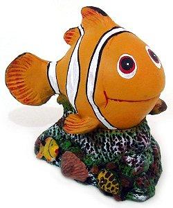 Peixe palhaço decorativo para aquário.