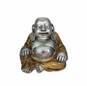 Buda Da Riqueza Felicidade, Dinheiro - Estatueta.