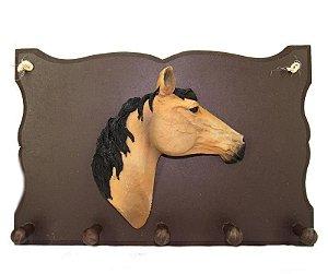 Porta Chave e cabideiro Cabeça De Cavalo
