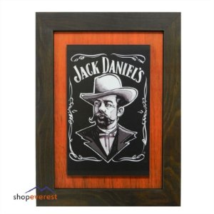 Quadro Jack Daniels retro Vintage.
