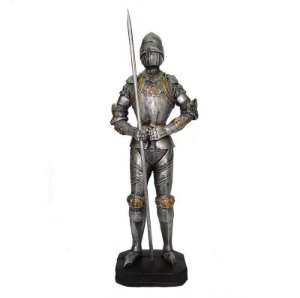 Guerreiro Medieval M Com Lança