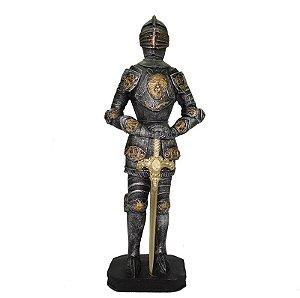 Guerreiro Medieval Pq Com Espada