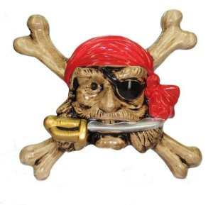 Pirata com faca Osso Médio