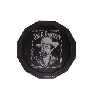 Luminoso Jack Daniel's de Madeira Redondo