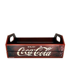 Caixa Decorativa Para Cerveja Engradado - Coca Cola