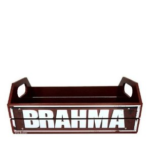 Caixa Decorativa Para Cerveja Engradado - Brahma