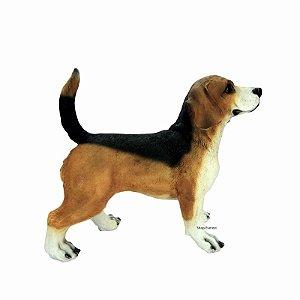 Cachorro Beagle Grande Decorativo - Pode Ficar No Tempo