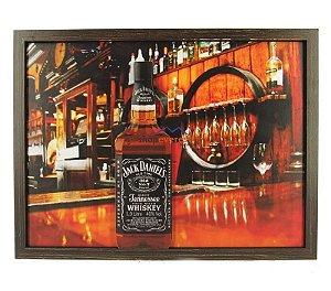 Quadro Jack Daniel's Whisky Alto Relevo