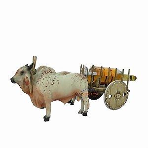 Carro De Boi Grande Com Porta Pinga Integrado