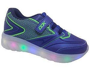 Tênis Dok Roller Ligth com Rodinhas e LED 79002 - Royal/Marinho