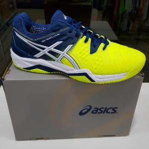 ASICS GEL RESOLUTION 6 CLAY MAR/LIM/BCO