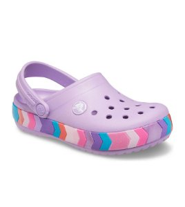 CROCS CROCBAND CHEVRON BEADED K ORCHID
