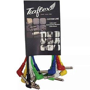 Cabo De Pedal Kit C/6 90 Graus Tiaflex 30 Cm