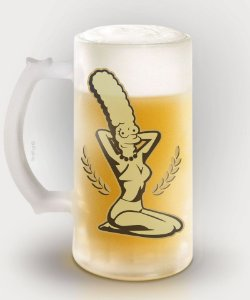 Caneca Duff Beer