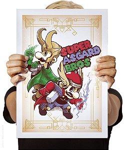 Poster Super Asgard Bros