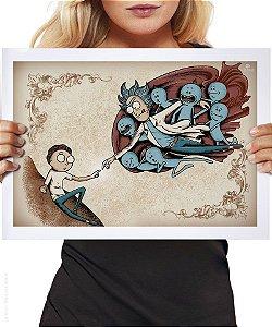 Poster A Criação de Morty
