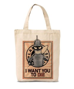 Ecobag I Want You to Die