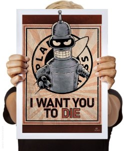 Poster I Want You to Die