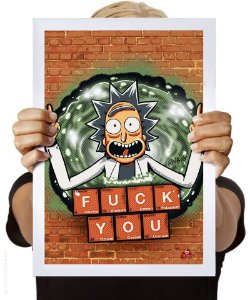 Poster Rick's Periodic Table