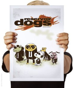 Poster Cães de Aluguel