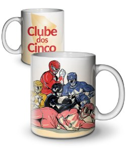 Caneca Clube dos Cinco