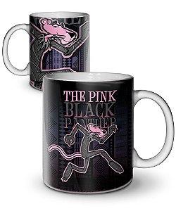 Caneca Pink Black Panther