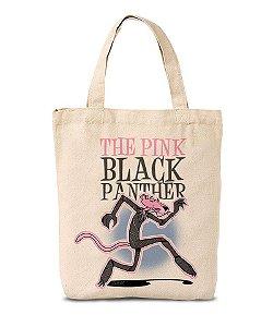Ecobag Pink Black Panther