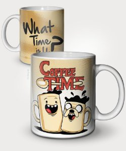 Caneca Coffee Time