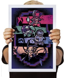 Poster Kombat Pokémon