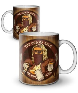 Caneca The God Of Beer