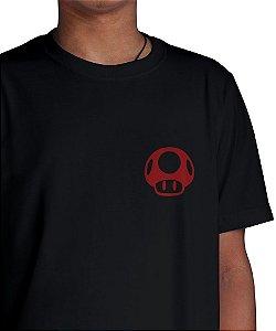 Camiseta Cogumelo Vermelho