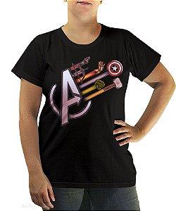 Camiseta Avengers Weapons